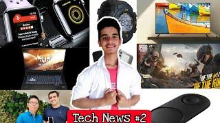 Tech News #2 || Redmi, Asus New Laptops, Lenovo, Samsung, Realme, Fortnite, PUBG 🔥🔥🔥