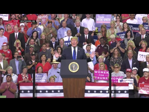 LIVE: President Trump in Southaven, MS!