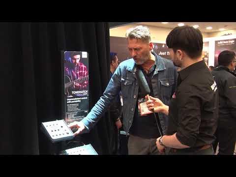 NAMM 2018 BOSE T4S T8S ToneMatch Digital Mixer (deutsch)