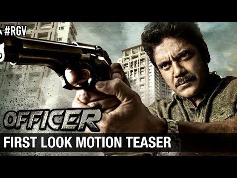 RGV's Officer First Look Motion Teaser | Nagarjuna | Ram Gopal Varma | #Officer | #NAGRGV4