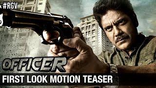 RGV's Officer First Look Motion Teaser - Nagarjuna, Ram Gopal Varma