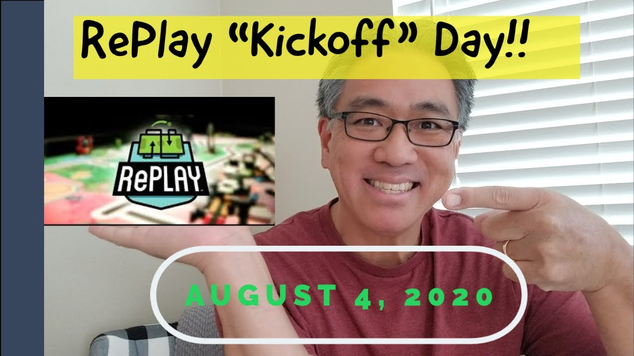 """""""RePlay KICKOFF Today For FLL!!!"""""""