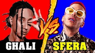 Ghali VS Sfera Ebbasta - Battaglia Rap Epica - Manuel Aski