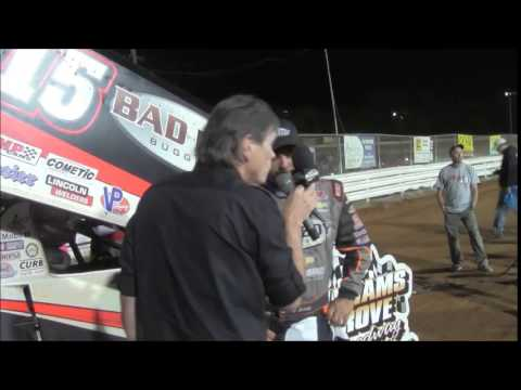 2015 World of Outlaws Sprint Car Series Victory from Williams Grove Speedway on May 15
