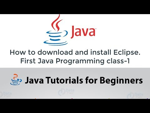 Java Programming Tutorial 1 - Introduction to Java 2020 || how to download and install Eclipse IDE thumbnail