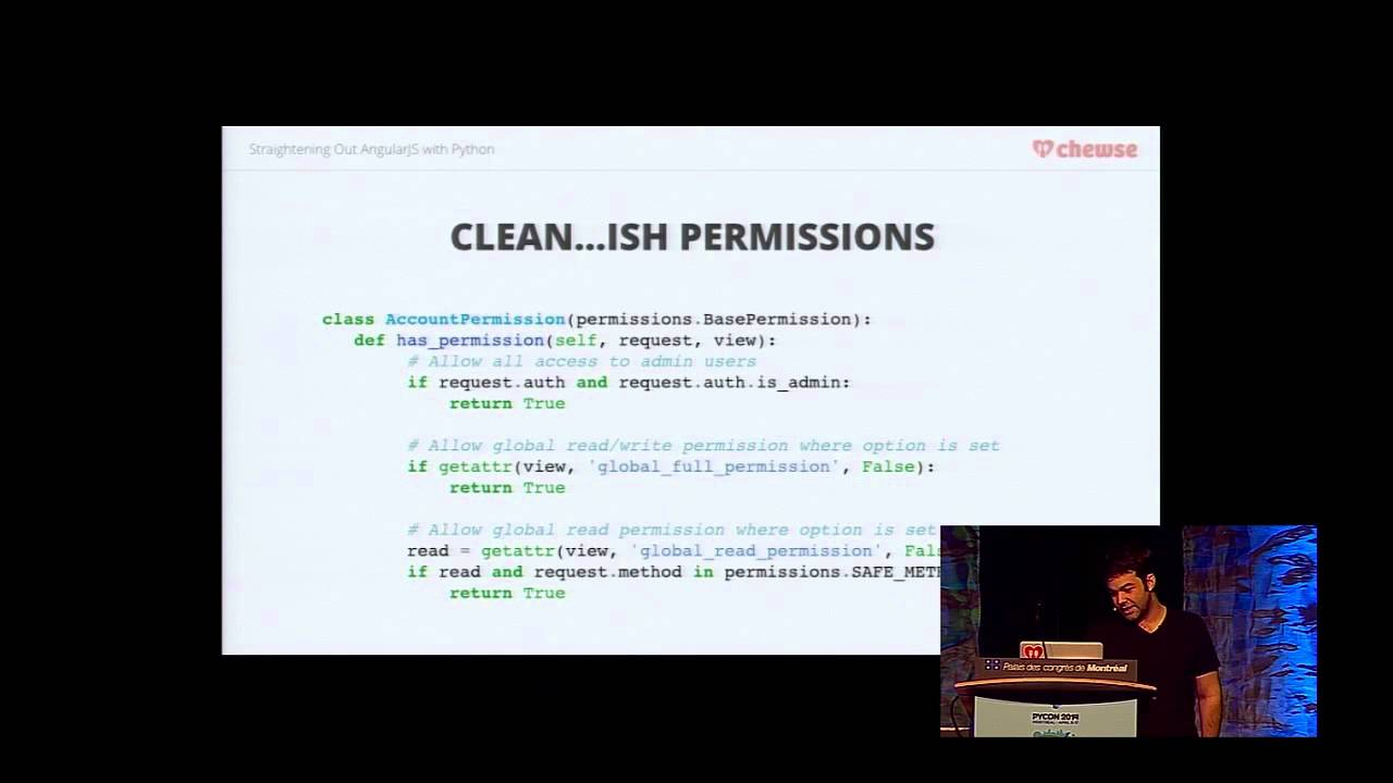 PyVideo org · Straightening Out AngularJS with Python