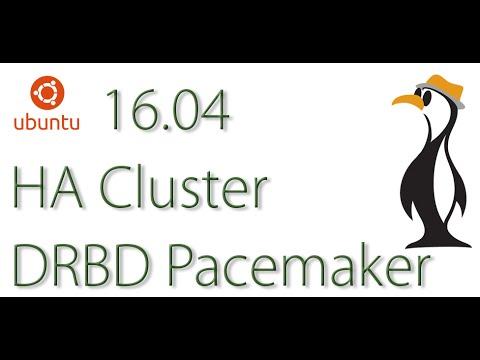 Ubuntu 16.04 DRBD Pacemaker HA Cluster