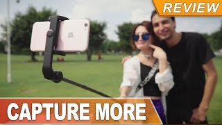 Bluetooth Tripod Selfie Stick @BlitzWolf BW-BS4 for travel, friends and fun