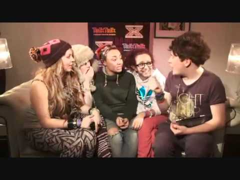 Clip of my interview with Little Mix
