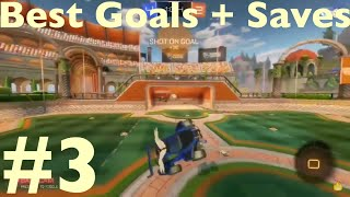 BEST GOALS & SAVES BY PYRO TR3Y | Rocket League Goal Montage #3