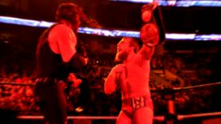 WWE Kane And Daniel Bryan (Team Hell No) Veil of Valkyrie
