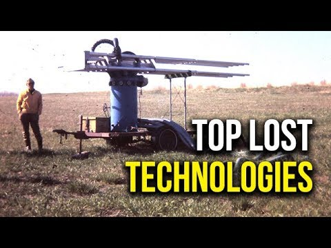 Top 5 Lost Technologies