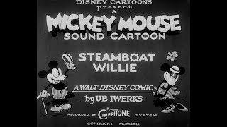 ミッキーマウスの原点『蒸気船ウィリー』 スクリーンデビュー冒頭映像が到着 コンピレーション『セレブレーション!ミッキーマウス』 thumbnail