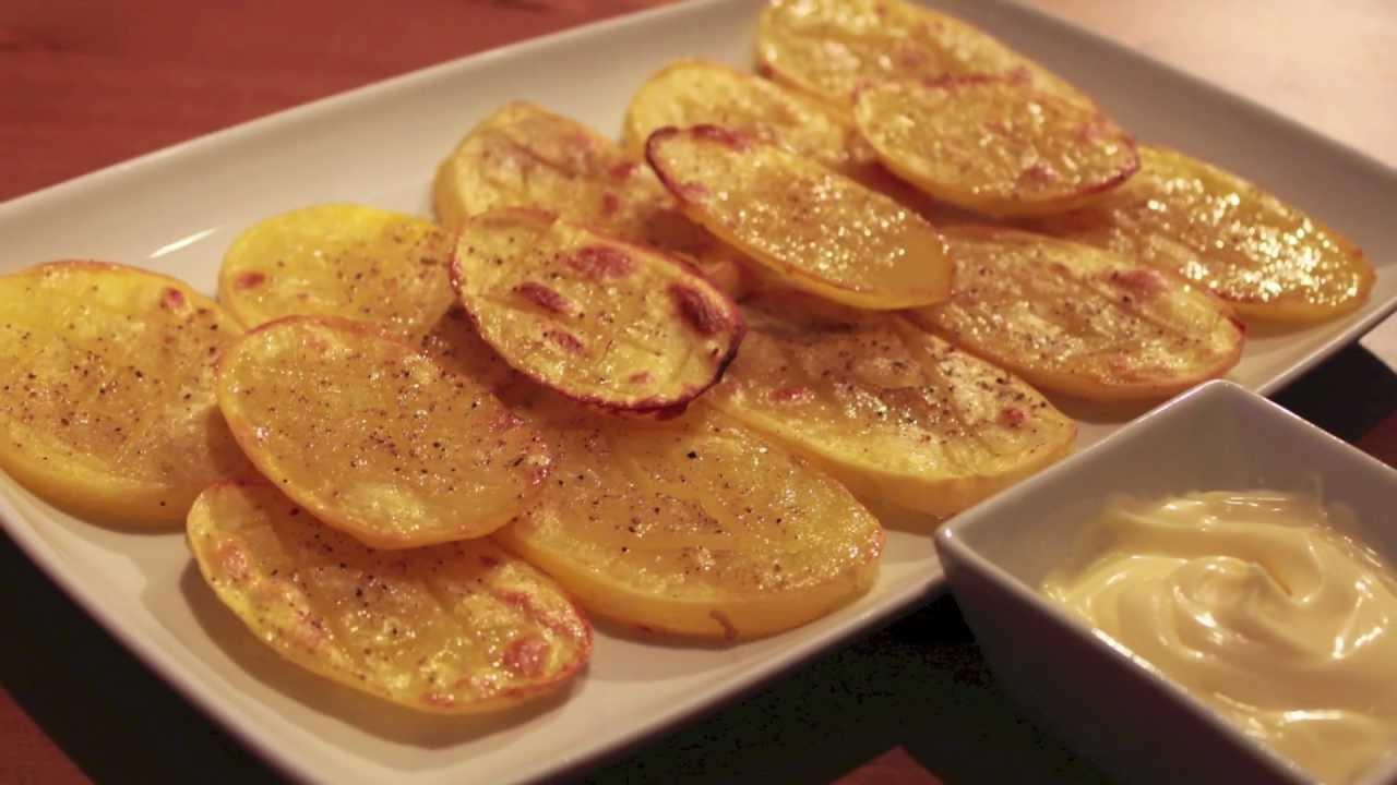 Patatas asadas ligeras y fciles  estilo murciano