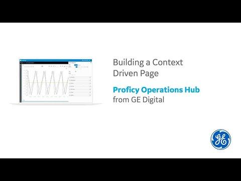 Proficy Operations Hub   Context-Driven