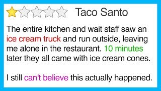 10 FUNNY YELP Reviews That Are 5 Star Fantastic! thumbnail