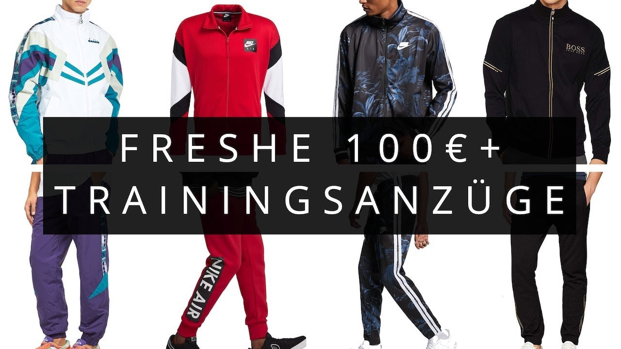 11 + 1 TOP Premium Trainingsanzüge von Lacoste, Hugo Boss