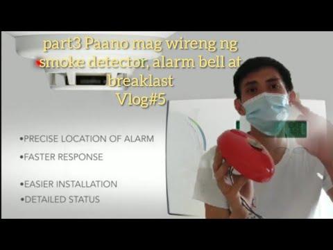 Download Paano mag wireng ng smoke detector, Break last and Alarm bell (part 3 )