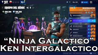 Team Heroe Ken Intergalactic In Fortnite Save The World