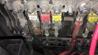Коварная клемма питания электроусилитея руля Пассат Б6 Passat B6