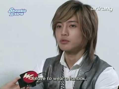070127 Arirang TV Showbiz Extra - Kim Hyun Joong [eng]