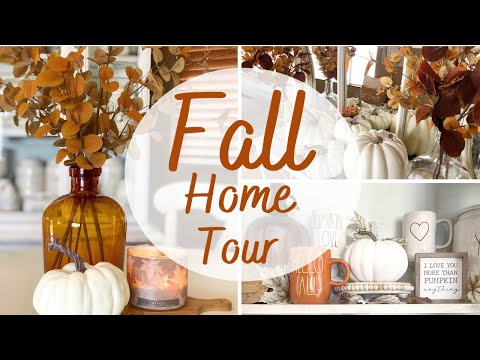 FALL HOME TOUR| FARMHOUSE FALL| 2020