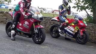 James Cowton Last Race