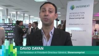 EnterNext accueille Showroomprivé sur Euronext Paris