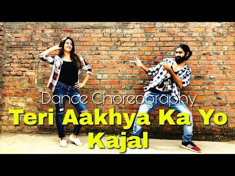 teri-aakhya-ka-yo-kajal-dance-choreography-|-alok-kacher-ft.-garima-|-new-haryanvi-song-2018-|-sapna