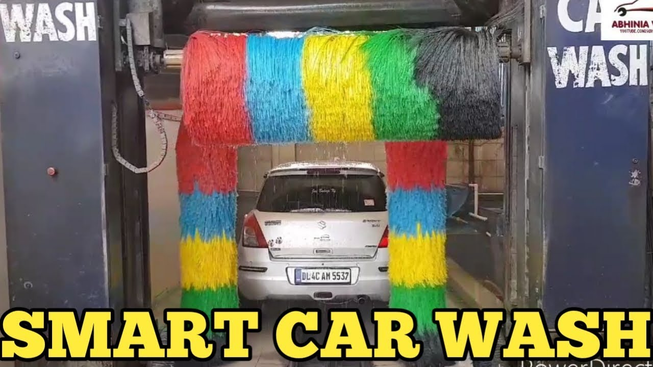 Smart Car Wash >> My Swift Washing At Smart Car Wash In Just Rs500 Youtube