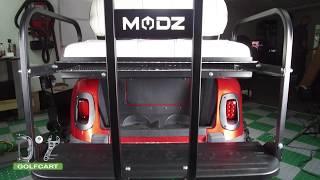 Modz Golf Cart Rear Seat Safety Grab Bar Installation