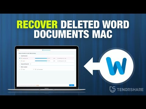 How To Recover Lost, Deleted Word Documents On Mac?