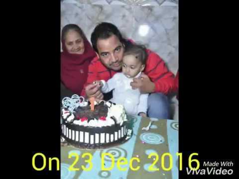 Baar Baar Din Ye Aaye...... Vedika 1st Birthday