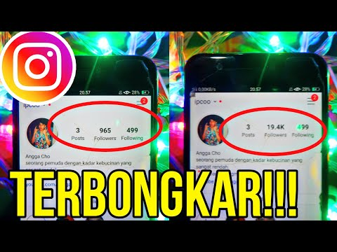 RAHASIA CARA MENAMBAH FOLLOWERS INSTAGRAM