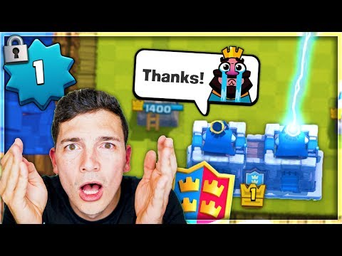 LEVEL 1 ACCOUNT... TRYING 2v2! Clash Royale
