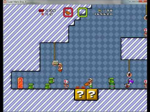 (2 Player) Super Mario Bros X Part 4