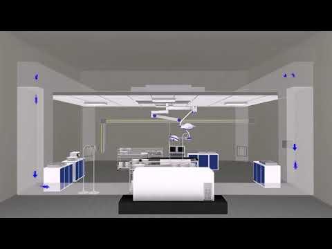 pharma AirLaminar Air Flow Animation 720p