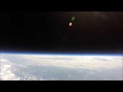 FLAT EARTH ADDICT 05 : 121,000 feet Little Piggy Cam High Altitude Balloon Flight