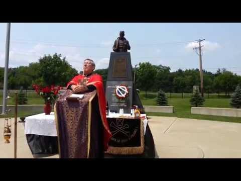 Chetnik Family Reunion Memorial Svc. for General Mihailovich July 19, 2014 St Sava Libertyville