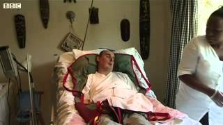 BBC - Man with locked-in syndrome