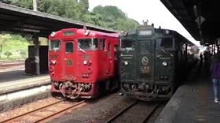 【極上の列車旅】特急かわせみやませみに乗ってきたよ♪