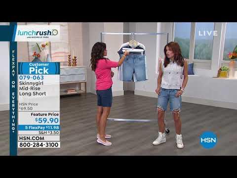 Skinnygirl MidRise Long Short. http://bit.ly/2FvZpl7