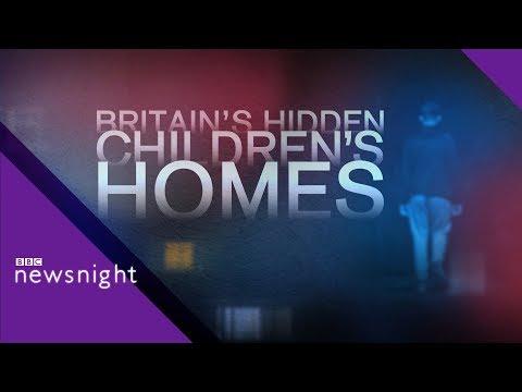 Britain's Hidden Children's Homes - BBC Newsnight