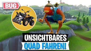 UNSICHTBAR Quad Ride! Save the world for free in the Eon Bundle! | Fortnite Battle Royale