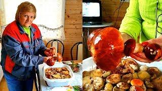 Жареные грибы в сметане - вкуснейшая закуска. Готовим вкусно.