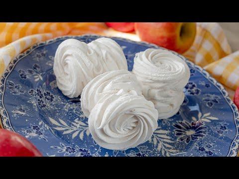 ЗЕФИР ЯБЛОЧНЫЙ 🍎 простой и очень вкусный десерт из яблок 🍏 легкий рецепт на агаре