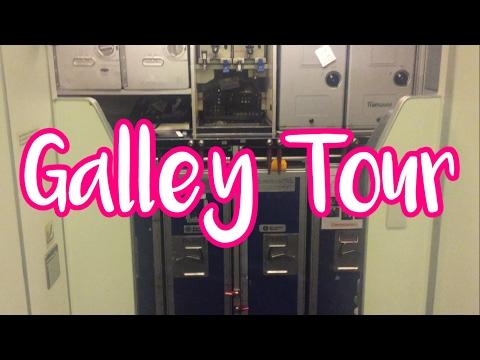 Flight Attendant Vlog | Galley Tour