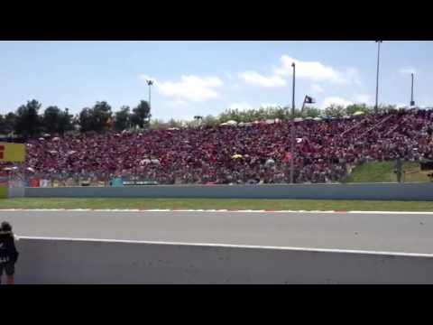 ไปดูรถแข่ง F1ที่บาร์เซโลน่า