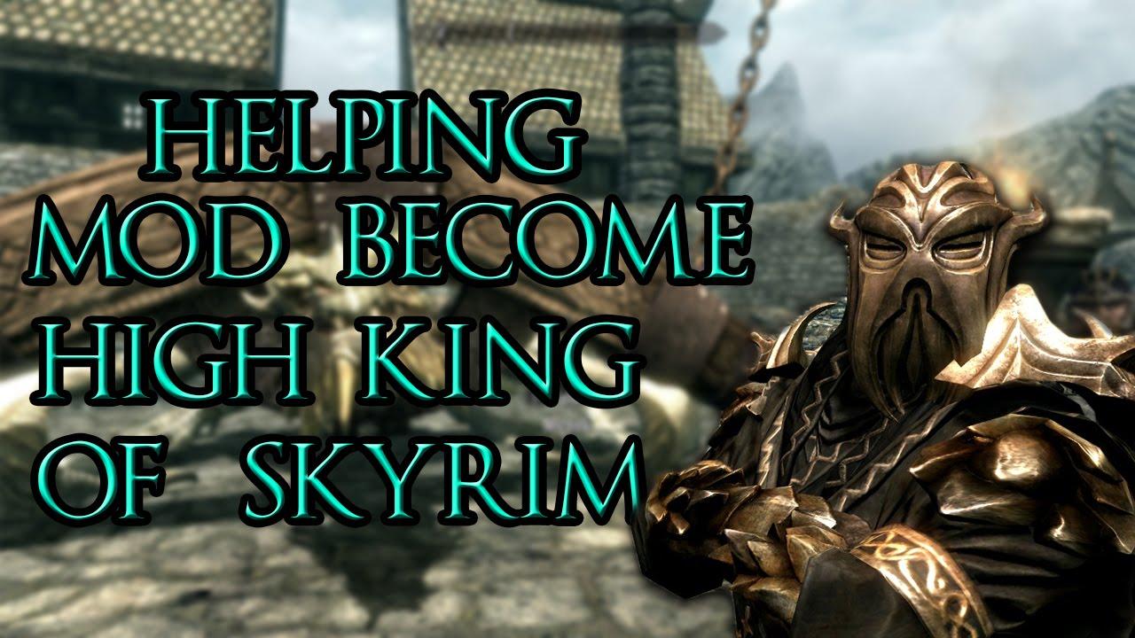 skyrim high king mod free download