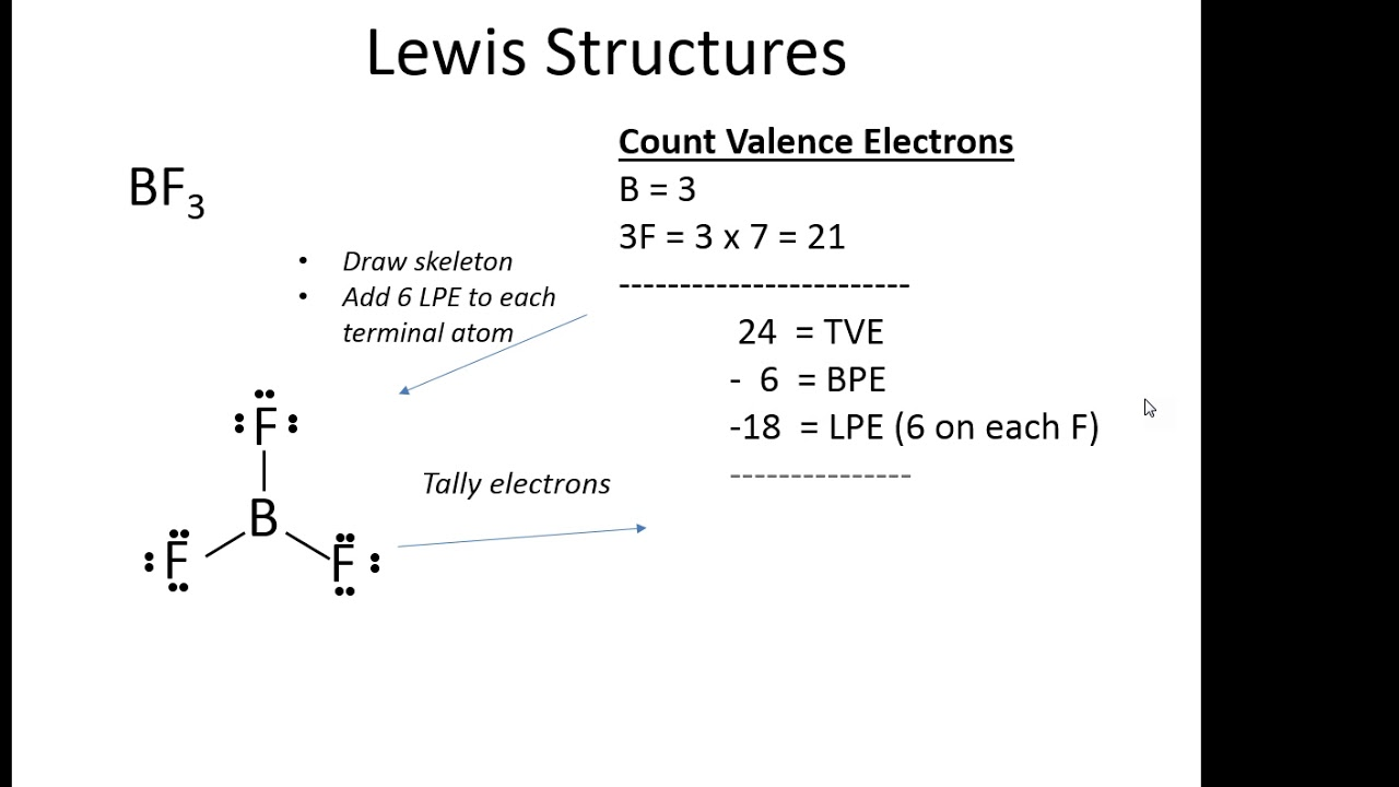Bf3 Lewis Structure